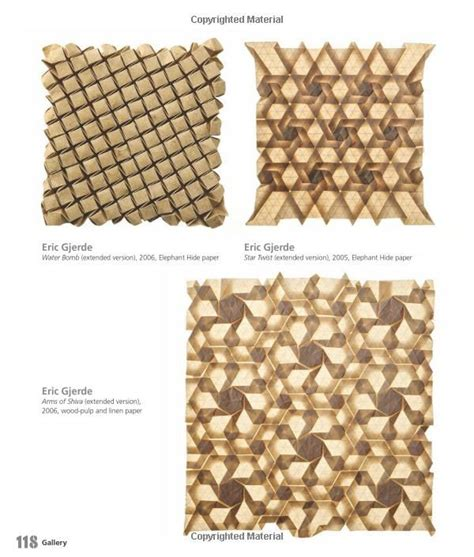 Origami Tessellations Awe Inspiring Geometric Designs - 80 best images about structure on paper