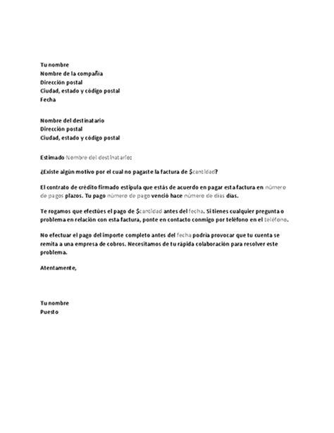 carta formal de vacaciones carta para solicitar el pago de una cuenta atrasada office templates