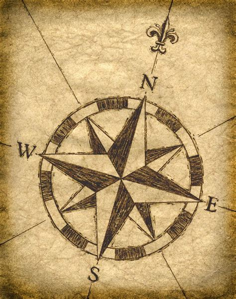 5 Nautical Style Treasures To Bring Some To Your Steps by Compass Artwork 11 X 14 Maps Treasure Maps