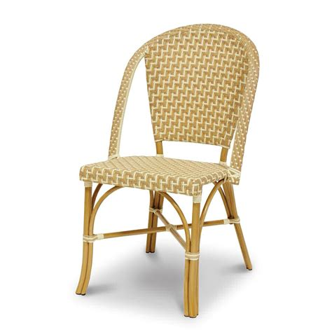 Steel Bistro Chairs Palecek Bistro Outdoor Metal Chair 7449