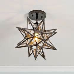 moravian star ceiling light available in 2 colors