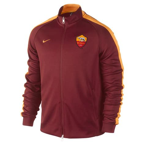 2014 2015 psg nike authentic n98 jacket red 613800 696 2014 2015 as roma nike authentic n98 jacket red 631416