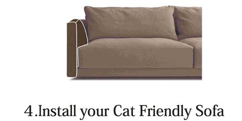 how to cover cat scratches on leather sofa cat resistant cat friendly sofa