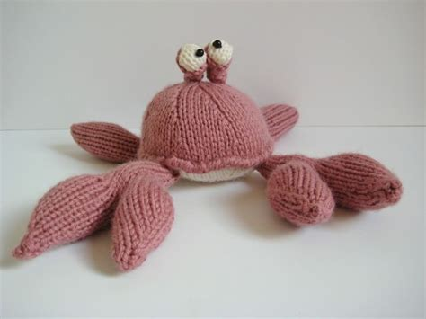 crab knitting pattern the crab knitting pattern nautical