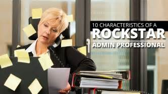 10 signs of a rockstar administrative assistant and how