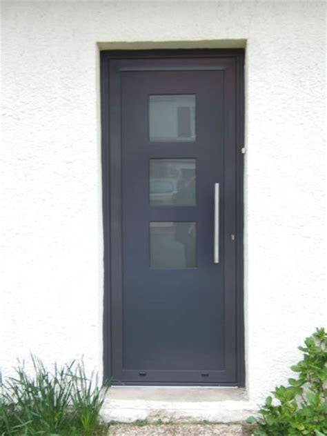 Porte D Entrée Vitree 456 by Porte D Entr 195 169 E Maison Pvc