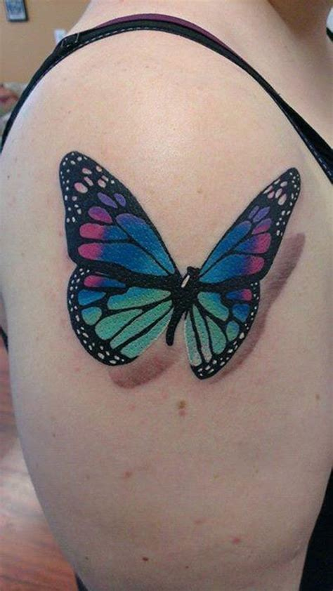 attractive butterfly tattoos   fun
