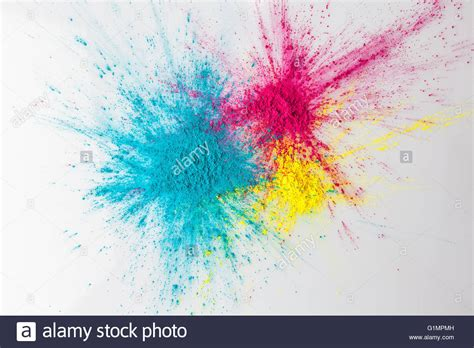 holi color powder color explosion concept colorful holi powder exploding on