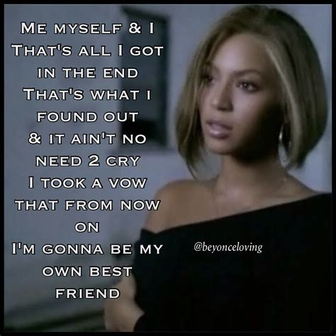 lyrica and beyonce beyonce lyric quotes quotesgram