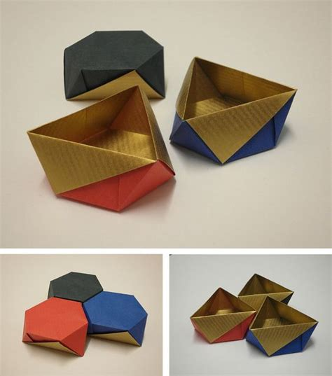 Origami Box Patterns - dasa severova crease pattern here http www flickr