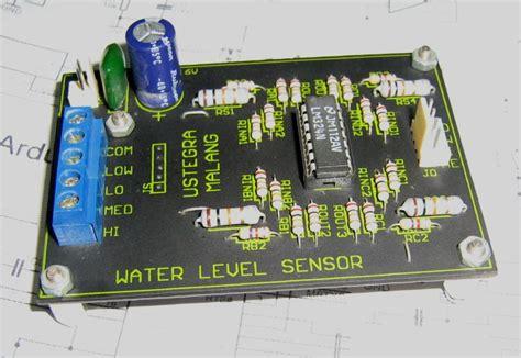 layout pabrik karet perancangan sensor ketinggian air tandon water level