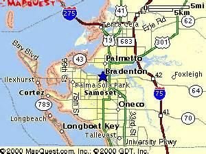 bradenton florida map