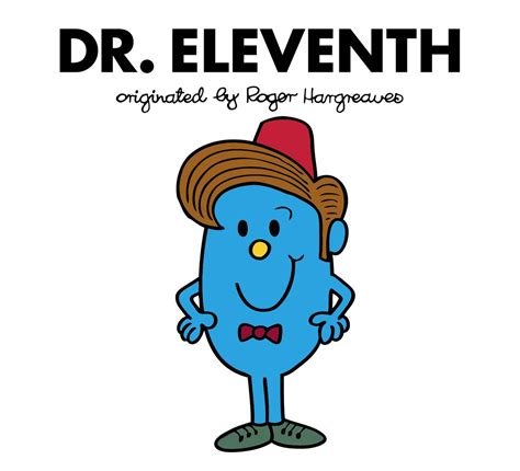 dr tenth doctor who roger hargreaves books doctor who gets a mr men makeover in 2017 and