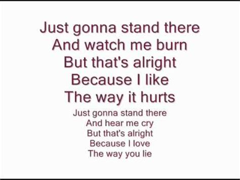 eminem love the way you lie lyrics eminem feat rihanna love the way you lie lyrics on