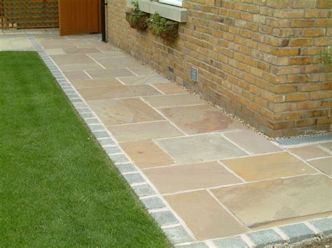 indian sandstone paving patio flags
