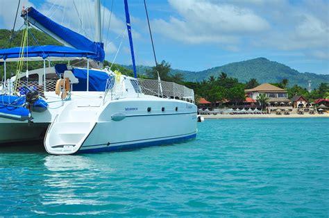 catamaran sailing belize belize sail catamaran 13 samui luxury boat