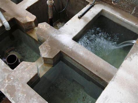 vasche di sedimentazione le vaschette di sedimentazione a stramazzo delle bocche