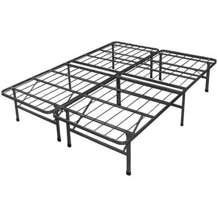 under bed storage frame spa sensations 10 quot high profile foldable steel smart base