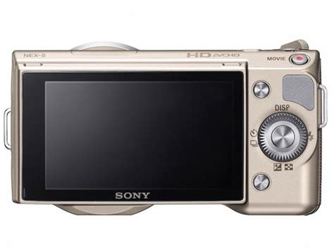 Kamera Sony Nex 5d sony launches limted edition gold nex 5d