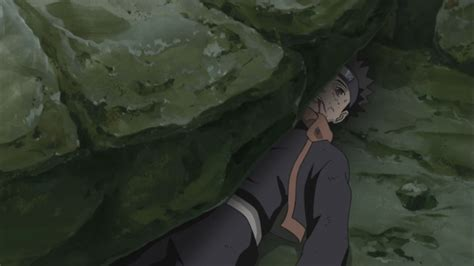 crushed by obito crushed by large rocks daily anime art