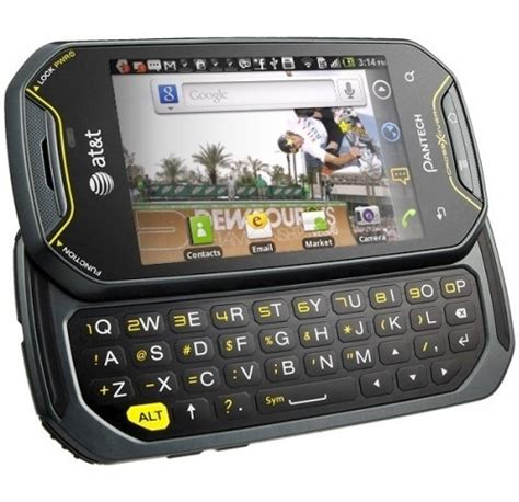 rugged t mobile phones wholesale pantech crossover p8000 3g wi fi rugged android at t gsm unlocked factory refurbished