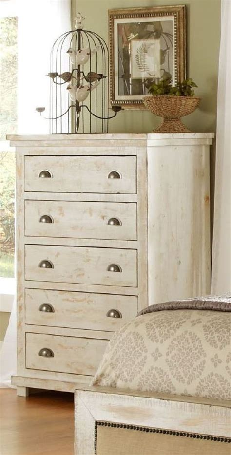 willow bedroom furniture willow distressed white slat bedroom set p610 60 61 78
