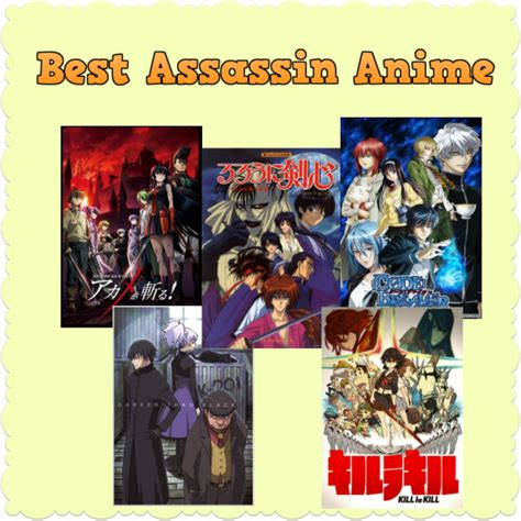 best series list top 10 best assassin anime series recommendations