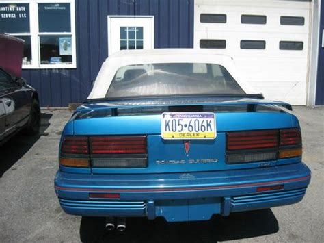 how to sell used cars 1992 pontiac sunbird security system find used 1992 pontiac sunbird se convertible 2 door 3 1l in landisburg pennsylvania united
