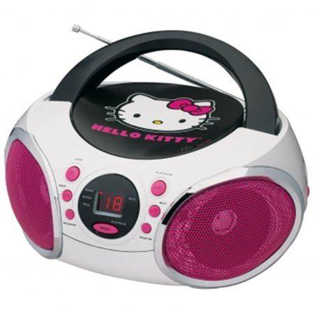 Speaker Hello Box hello portable stereo cd boombox with am fm radio