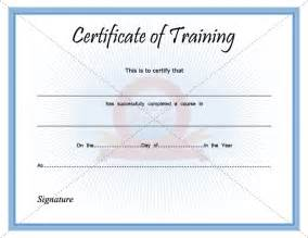 Training Certification Template Training Certificate Template Pdf Blank Certificates