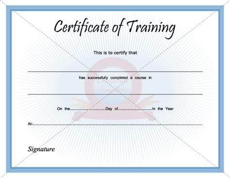 training certificate template sadamatsu hp