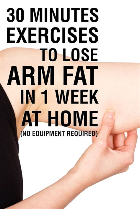 25 best ideas about lose arm on arm flab