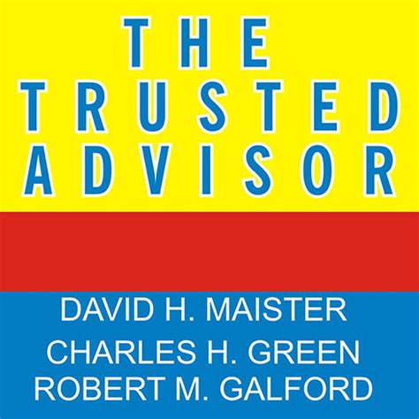 trusted books the trusted advisor audiobook by david h maister