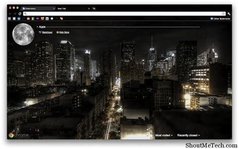 chrome night theme top 15 best google chrome themes