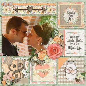 scrapbook templates wedding layout i do scrapbook layouts wedding pinterest