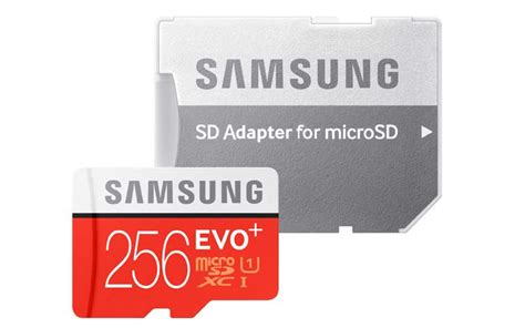 Micro Sd Samsung 256gb samsung evo plus 256gb microsd card launched at rs 12 999