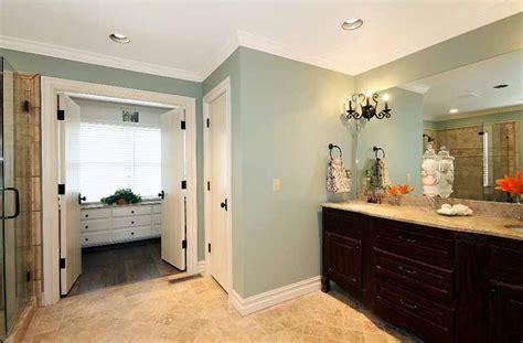 Vanity Inside Closet by Open Floor Plan In Sunset Terrace 1st