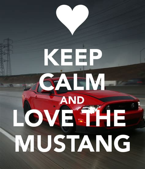 Ford Nation by Keep Calm And The Mustang Poster Ford Nation Net