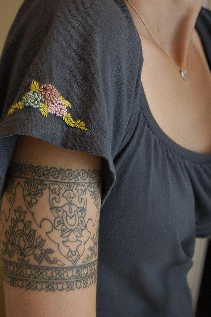 tattoo placement upper arm intricate cuff tattoo tattoo ideas top picks