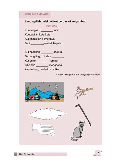 membuat puisi untuk anak sd bahasa indonesia kelas 3 sd