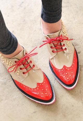 A C C E P T Flatshoes Beige best 25 oxfords ideas on oxford shoes brown