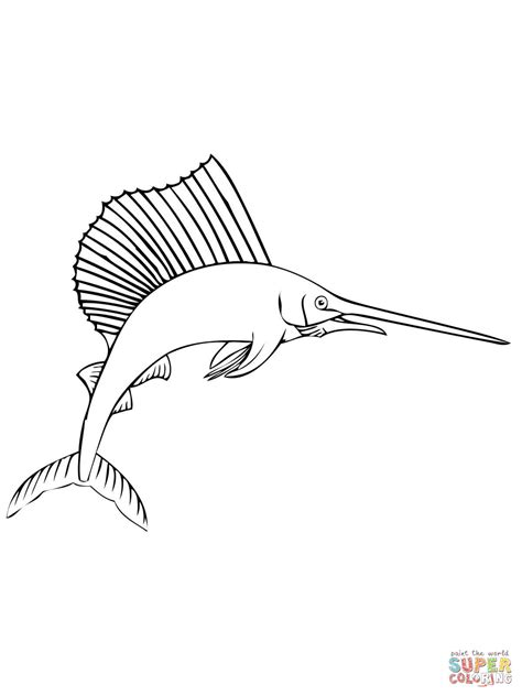 marlin fish coloring pages click the marlin coloring pages sailfish coloring pages