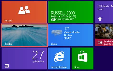 Calendario Area De Trabalho Windows 7 Como Exibir A 225 Rea De Trabalho Ao Iniciar O Windows 8 1