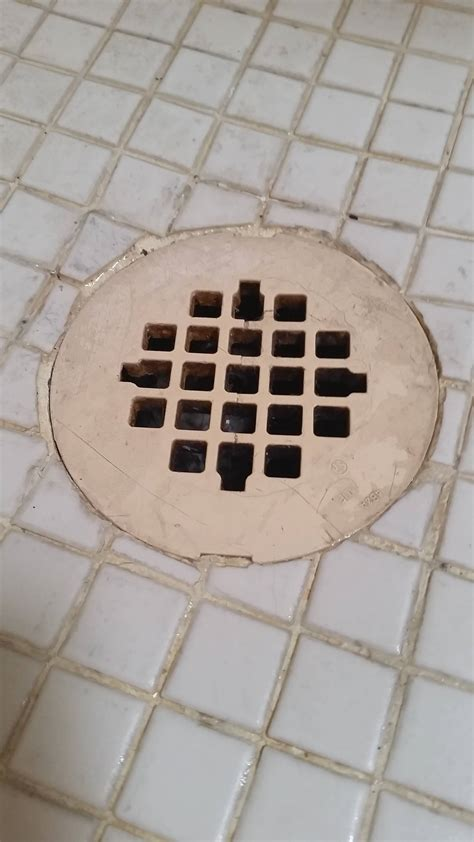 Shower Drain Covers by How Do I Remove This Plastic Shower Drain Cover