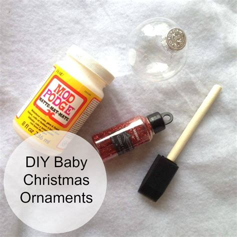 my pinterest fail diy baby christmas ornaments