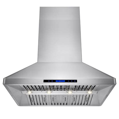kitchen island range hood akdy 42 in kitchen island mount range hood in stainless