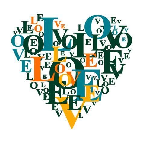 testo cuore testi di vinile decorativo cuore