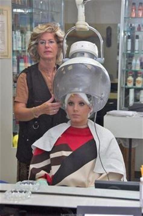 Hair Dryer Or Bad husband feminization in hair salon