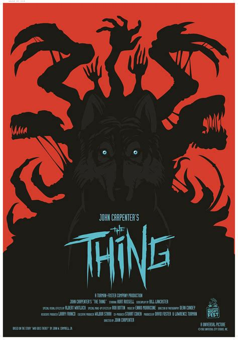 the thing minimalist poster poszter a dolog the thing 1982 aeon flux