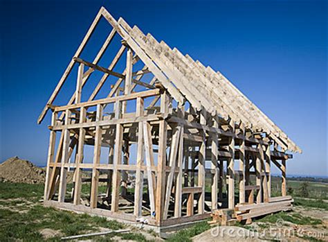 pictures of a frame houses wooden house frame royalty free stock images image 4986419